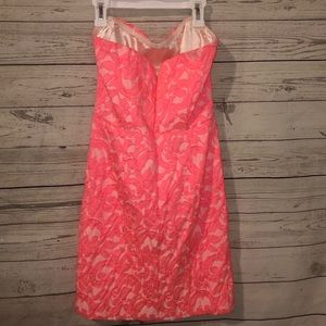 Eight Sixty Dresses - Eighty Six Neon Pink Dress Cocktail Sorority Small